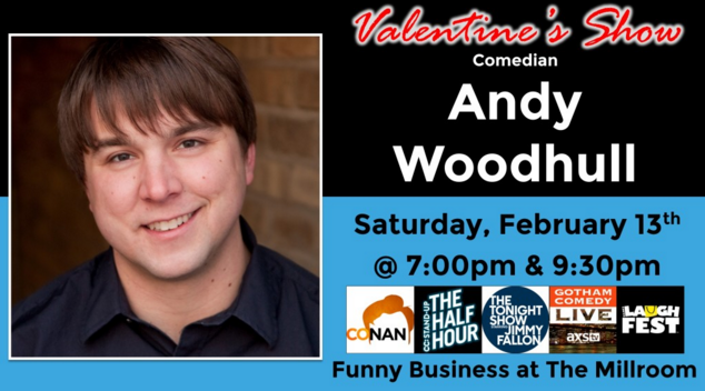 WIN TIX To see comedian Andy Woodhull at The Millroom in Asheville