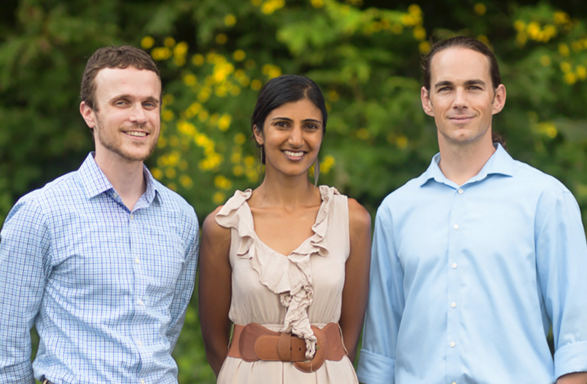 From left, Doctors Chad Krisel, Veena Somani and Brian Lewis. Krisel and Lewis founded Integrative Family Medicine of Asheville four years ago in the River Arts District.