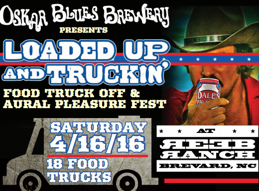 Oskar Blues food truck fest set for April 16 in Brevard, feat. Shovels & Rope