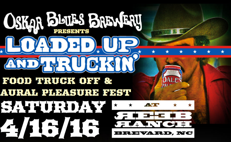 WIN TIX to Oskar Blues food truck fest at REEB Ranch in Brevard on April 16