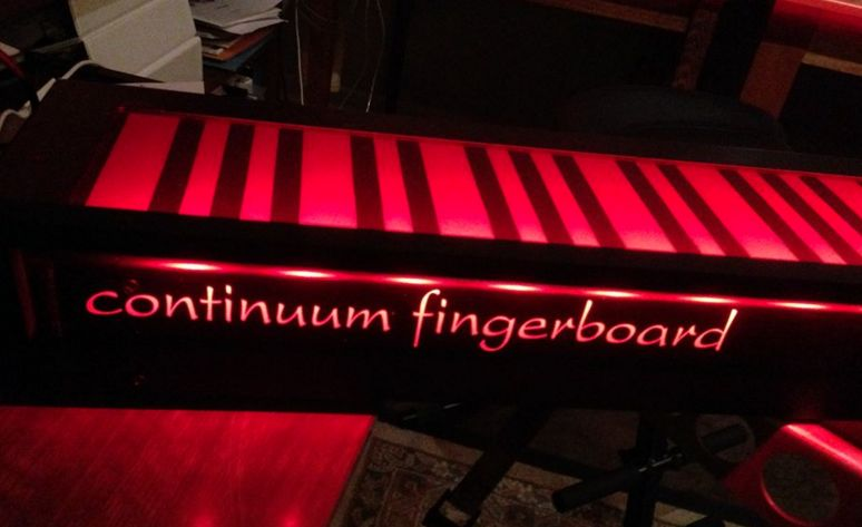 New music conference in Asheville celebrates the Haken Continuum Fingerboard