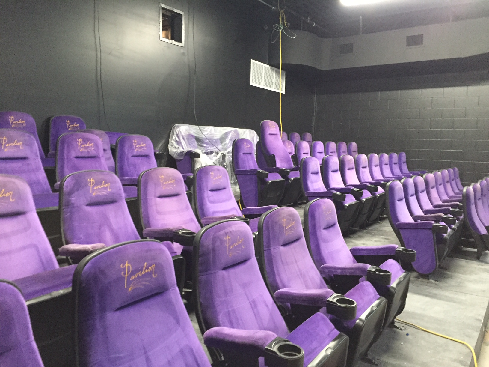 New downtown Asheville movie theater, Grail Moviehouse, nears completion