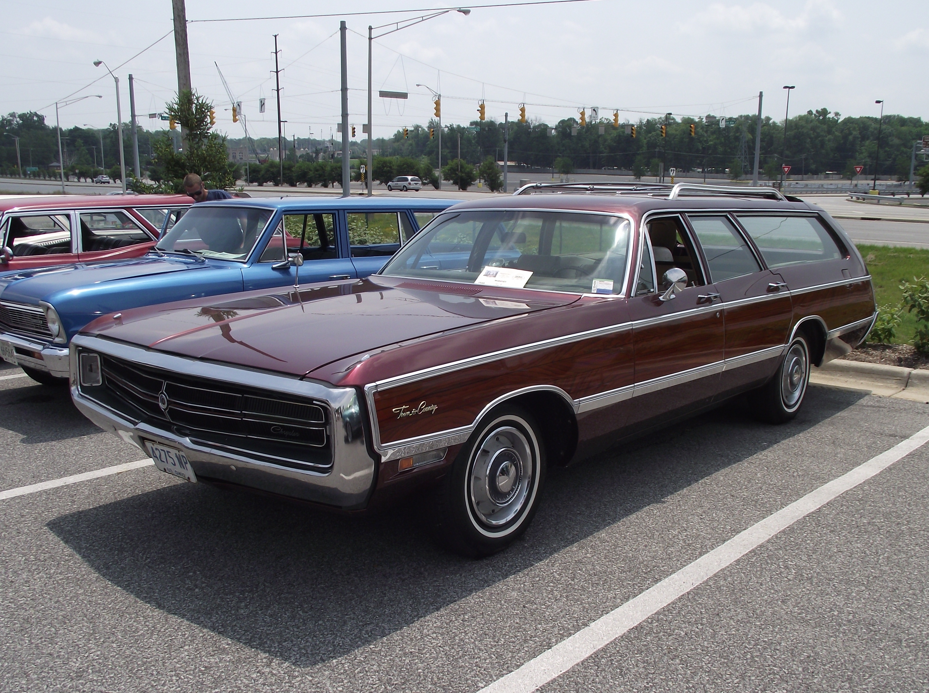 Vintage station wagons on display in Fletcher June 25 - Ashvegas