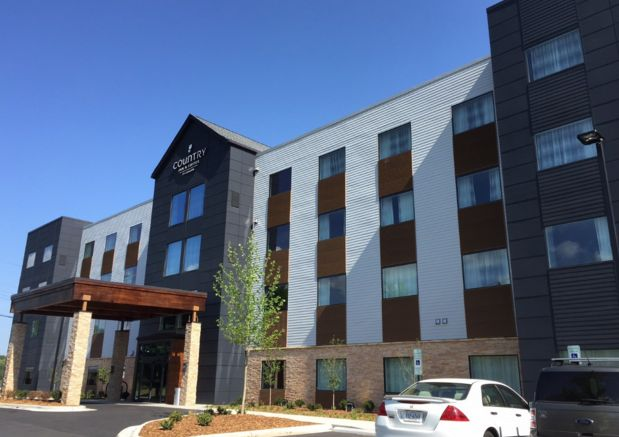 Another new hotel opens in Asheville; Country Inn & Suites up and running at Westgate