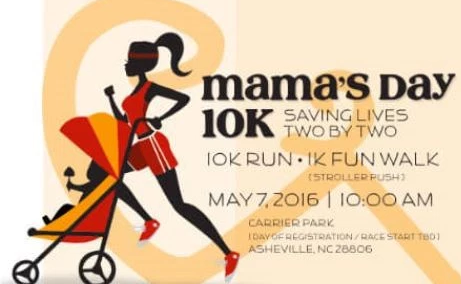 Mama's Day 10K set for May 7 at Asheville's Carrier Park