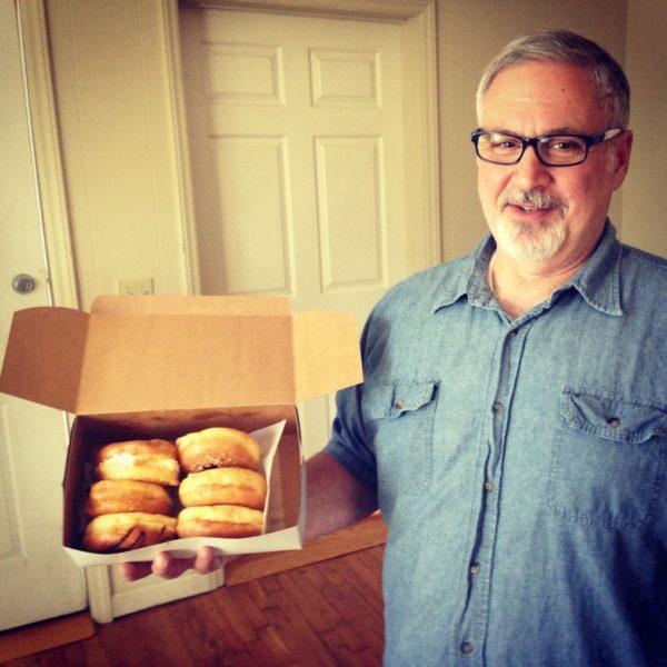 Mr. Bob brought 1/2 dozen doughnutty delights!