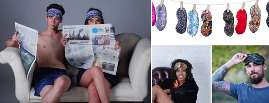 Sleep masks are keeping tireless Asheville entrepreneurs busy