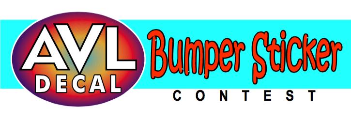 CONTEST Send in your bumper sticker slogan/design and win