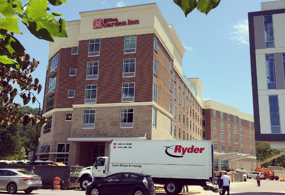 new hilton garden inn in downtown asheville prepares to open ashvegas - Hilton Garden Inn Asheville