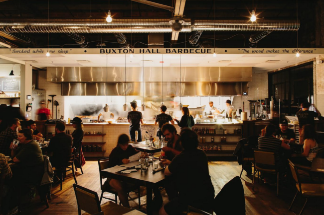 Buxton Hall Barbecue to celebrate one-year anniversary with special dinner