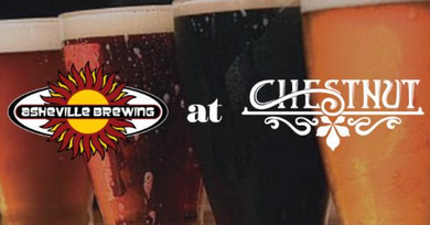 Chestnut and Asheville Brewing Company team-up for a Pre-Brewgrass Beer Dinner