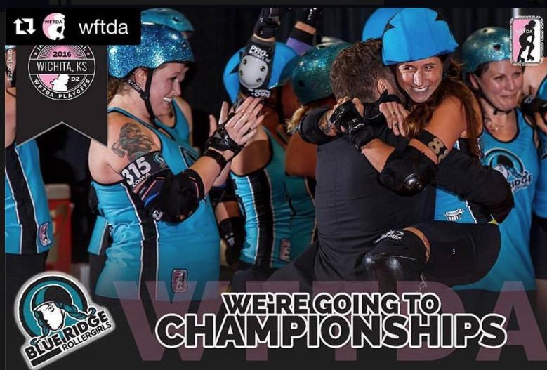 Blue Ridge Roller Girls kick ass, punch ticket to November championships