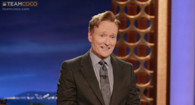 Ashvegas celebrity spotting: Conan O'Brien around Asheville