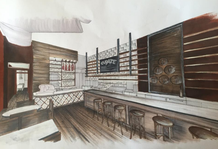 Sneak peek at Curate's restaurant expansion in Asheville