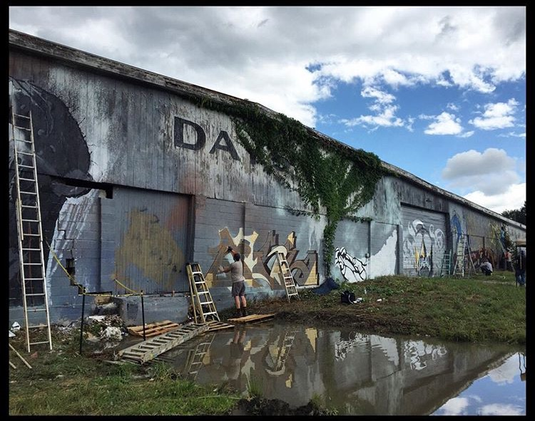 Demolition of giant Asheville River Arts District warehouse up for bid