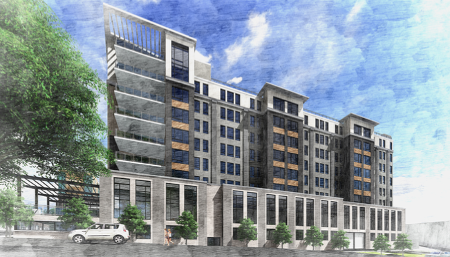 PHOTOS Proposed new hotel on Haywood Street in Asheville