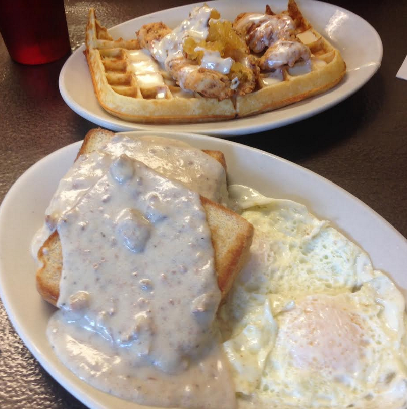 EAT OF THE WEEK! S.O.S. at The Tastee Diner in West Asheville