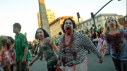 The Asheville Zombie Walk from 2010. /Photo by Jason Sandford.