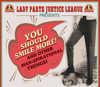 Lady Parts Justice League comedy crew at Grey Eagle in Asheville on Sunday