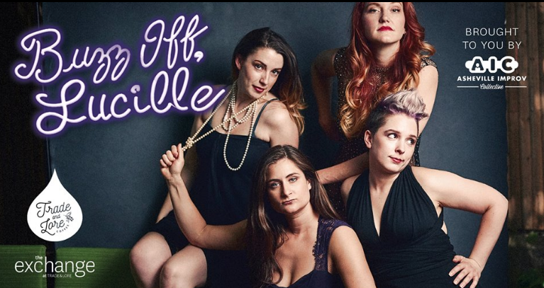 Sketch comedy group Buzz Off Lucille performs Friday a Trade & Lore in Asheville
