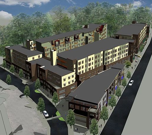 Rad Lofts Mixed Use Development In Asheville River Arts