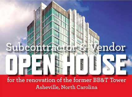 Wanted: Subcontractors, tradesman for downtown Asheville condo/hotel project