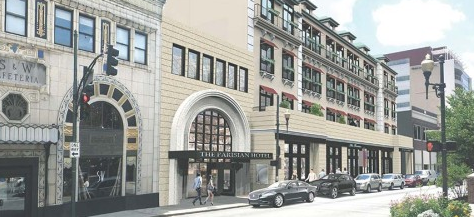 The Parisian, new 50-room boutique hotel, planned for downtown Asheville
