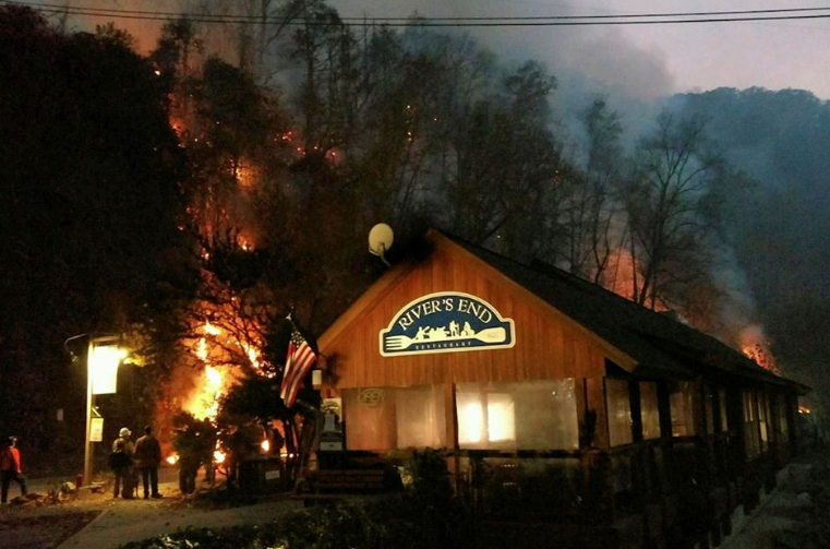 INFERNO: Wildfires ravage Western North Carolina