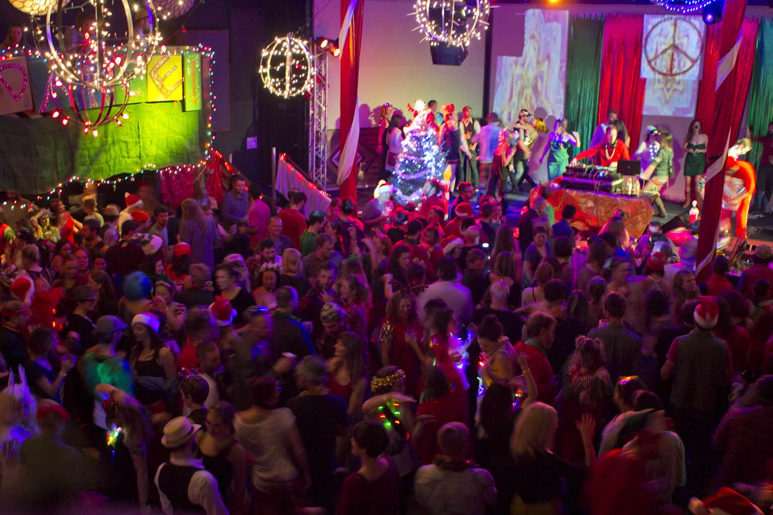 10th annual Holiday Liquor and Dance Party Saturday at New Mountain AVL