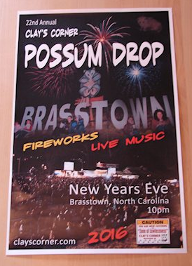 New Year's Eve 'Possum Drop' in Brasstown is set