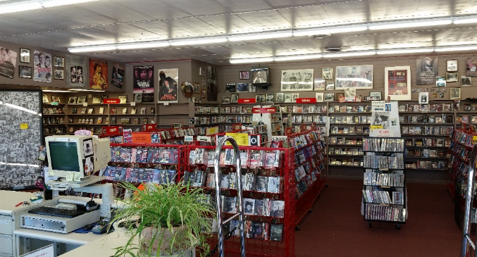 Rosebud Video, Asheville's oldest indy video rental shop, is closing
