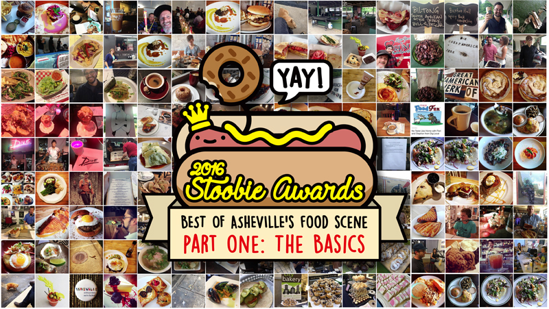 "2016 STOOBIE AWARDS, PT 1: ""THE BASICS"" Asheville's Best Burger, Pizza, Sandwich, More!"