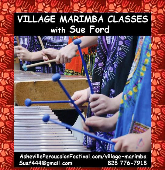 Asheville marimba queen Ford launches new school, Village Marimba