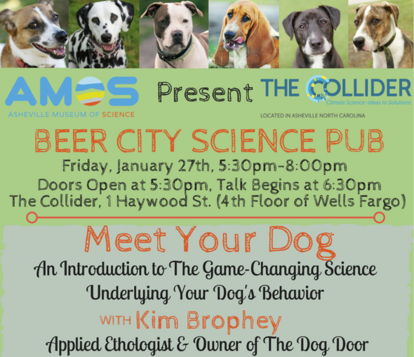 Asheville's Beer City Science Pub hosts 'Meet Your Dog' event Jan. 27