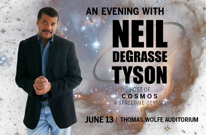 Neil deGrasse Tyson to speak in Asheville June; tickets on sale Friday