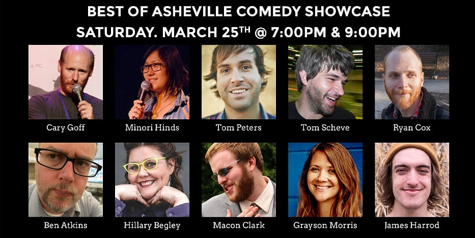 Best of Asheville Comedy Showcase set for March 25 at Grey Eagle