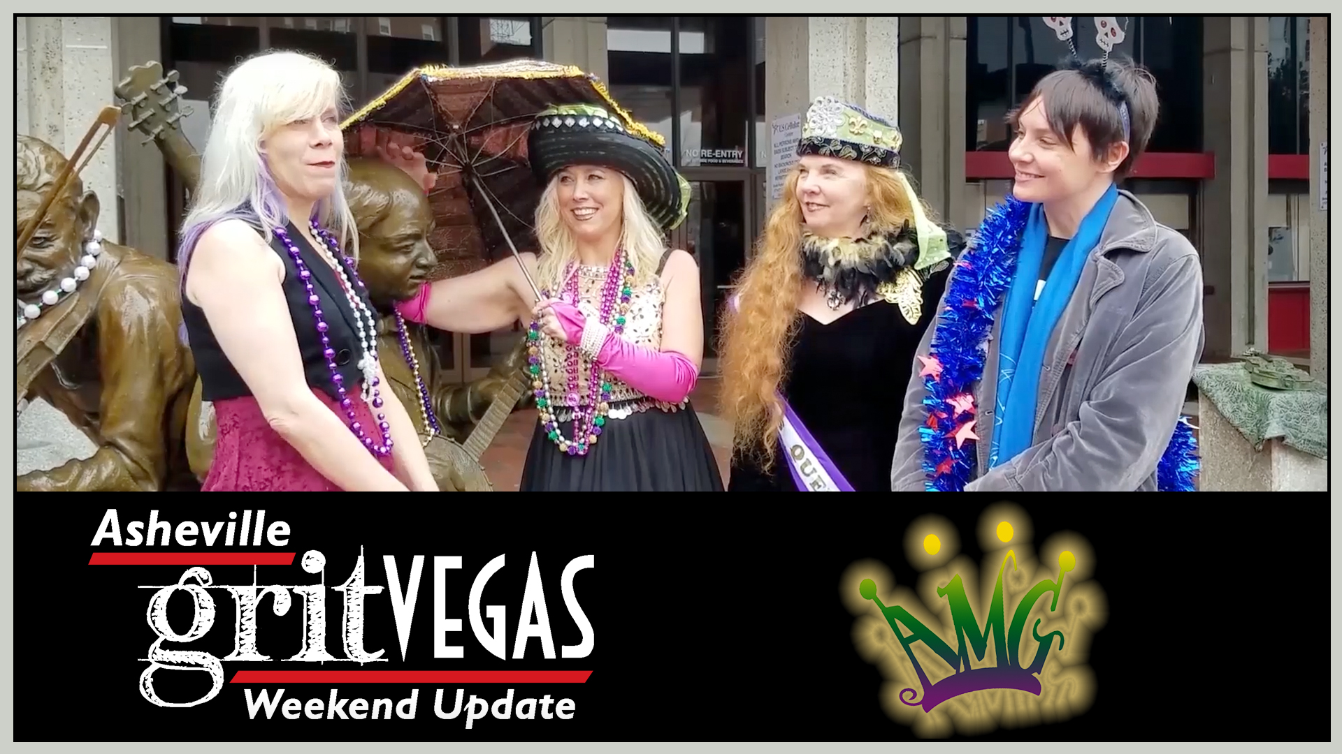 VIDEO: Asheville Mardis Gras parade and weekend events roundup