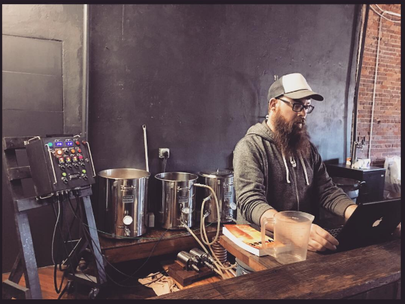 Matt Addis of Habitat Brewing.