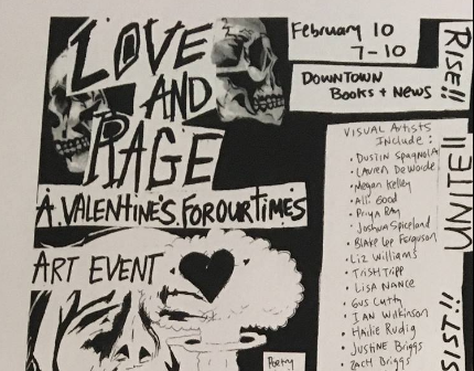 'Love & Rage' art opening Friday at 474 Gallery in Asheville