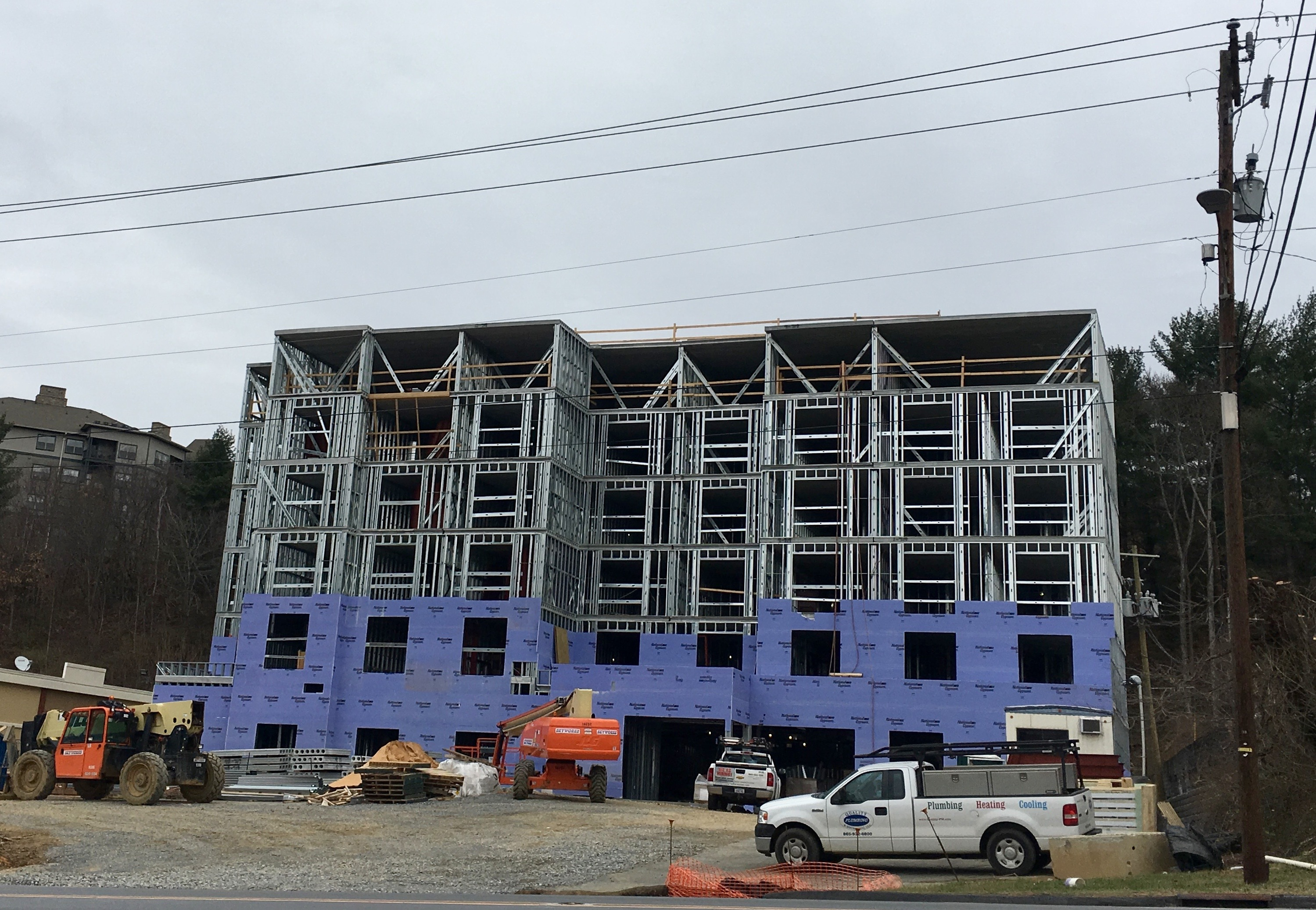 Asheville P&Z votes down new rules aimed at curbing hotel construction boom