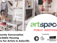 Affordable housing for Asheville artists is topic of March 22 meeting
