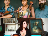 Night of the songstress: Leyla McCalla and Jane Kramer at Altamont Theatre Wednesday