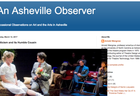 Moving the Asheville arts forward, one review at a time