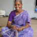 Photo: Sympath, an artisan with Poocharam Federation, receives vital, fair income for her handcrafted palm leaf streamers in Vellore, India.