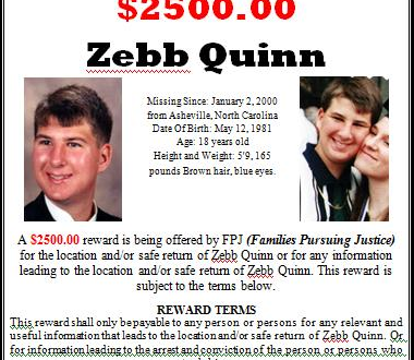 Will there finally be justice for Zebb Quinn and his family?