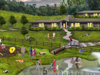 First Look: Renderings of Brother Wolf animal sanctuary