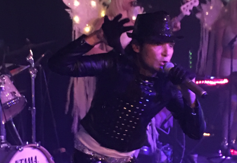 Corey Feldman, with circus-like showmanship, is dynamite at Asheville show