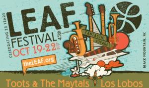 Ashvegas Hot Sheet: Toots & The Maytals, Los Lobos headline fall LEAF