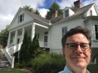 Stephen Colbert spotted at Carl Sandburg Home in Flat Rock