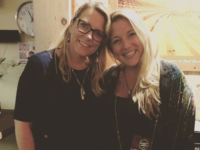 Asheville vocalist Caitlin Krisko, at right, with singer Susan Tedeschi.